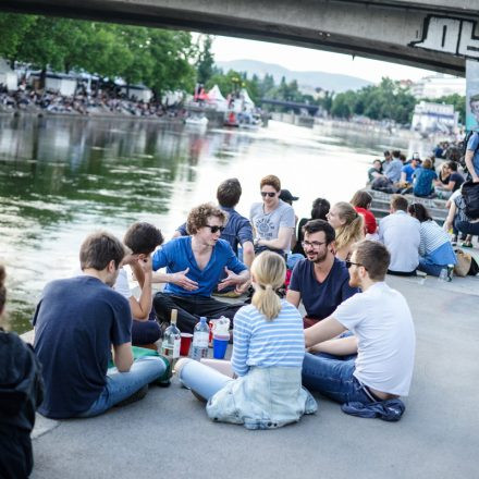 Donaukanaltreiben Freitag @ Donaukanal Wien