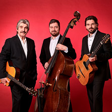 Joscho Stephan Trio - Gypsy Swing am 17. April 2020 @ Kammgarn Kulturwerkstatt.