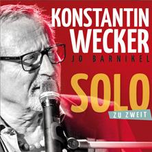Konstantin Wecker - Solo zu zweit am 7. December 2018 @ Bruno.