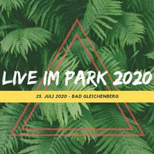 Live im Park 2020 am 25. July 2020 @ Hauptplatz Bad Gleichenberg.