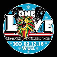 One Love Festival am 3. December 2018 @ WUK.