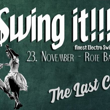 Swing it !!! The Last Curtain!