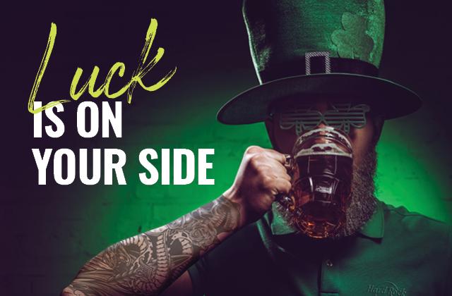St. Patrick's Day im Hard Rock Cafe am 17. March 2020 @ Hard Rock Café Vienna.