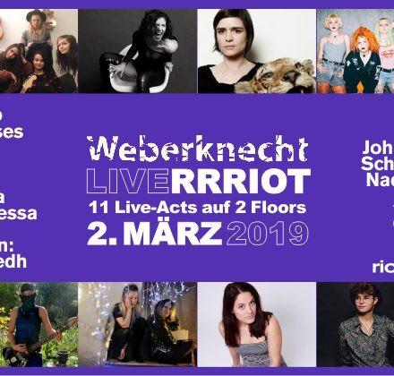 Weberknecht Live RRRiot