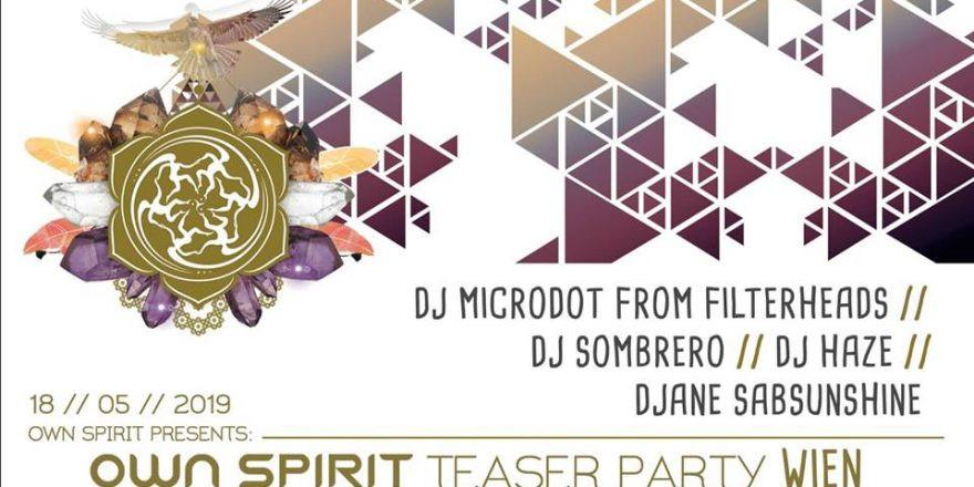 Own Spirit Festival Teaser Party