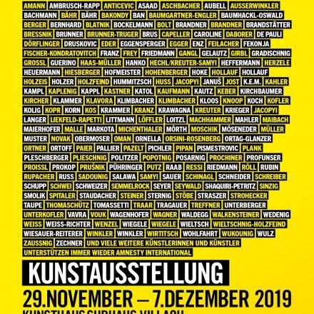 Künstlerinnen & Künstler für Amnesty International