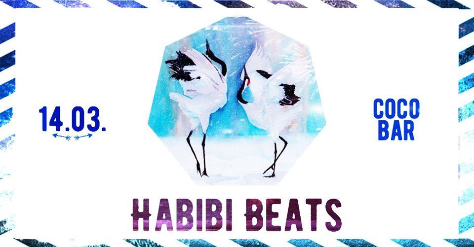 Habibi Beats - Vienna's Oriental Clubnight - DJ-Night am 14. March 2020 @ Coco Bar.