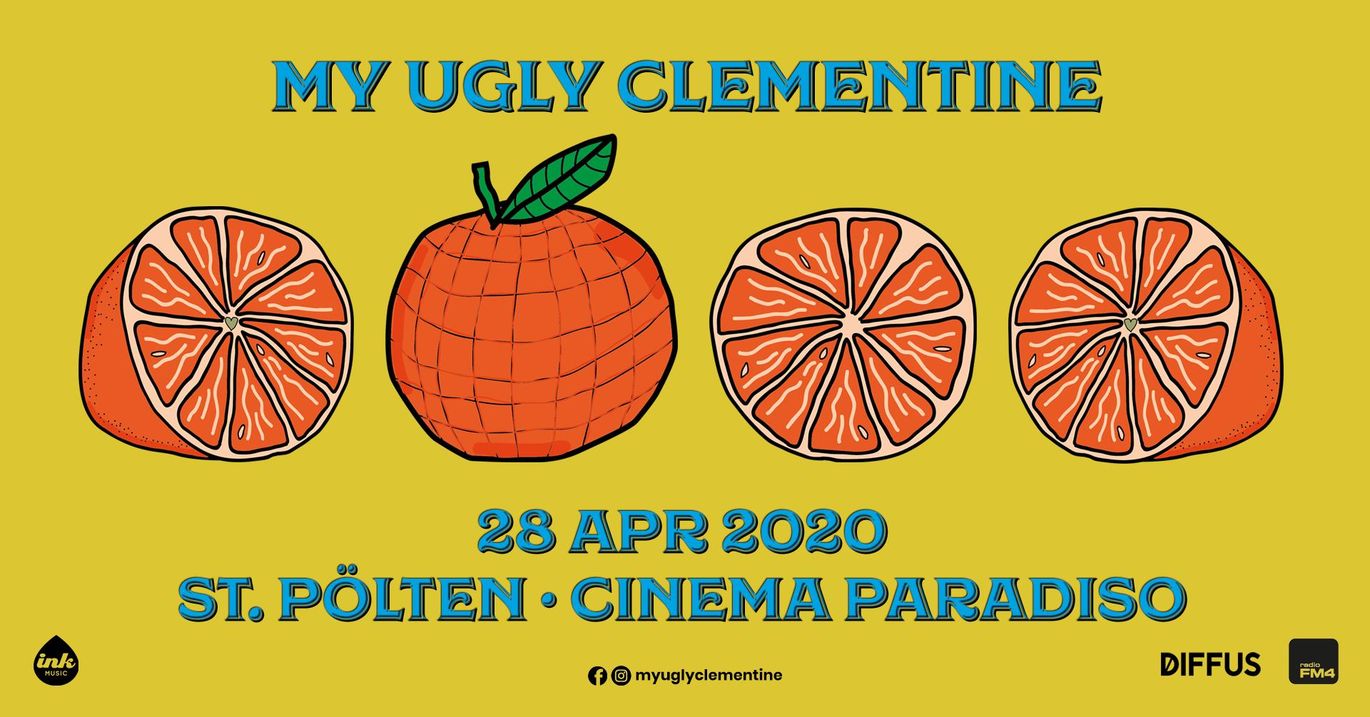 My Ugly Clementine im Club 3 // Cinema Paradiso am 28. April 2020 @ Cinema Paradiso.