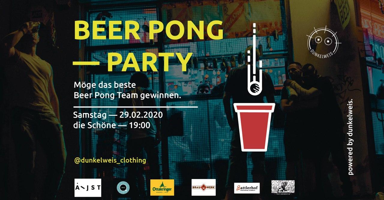 Beer Pong Party am 29. February 2020 @ die Schöne.