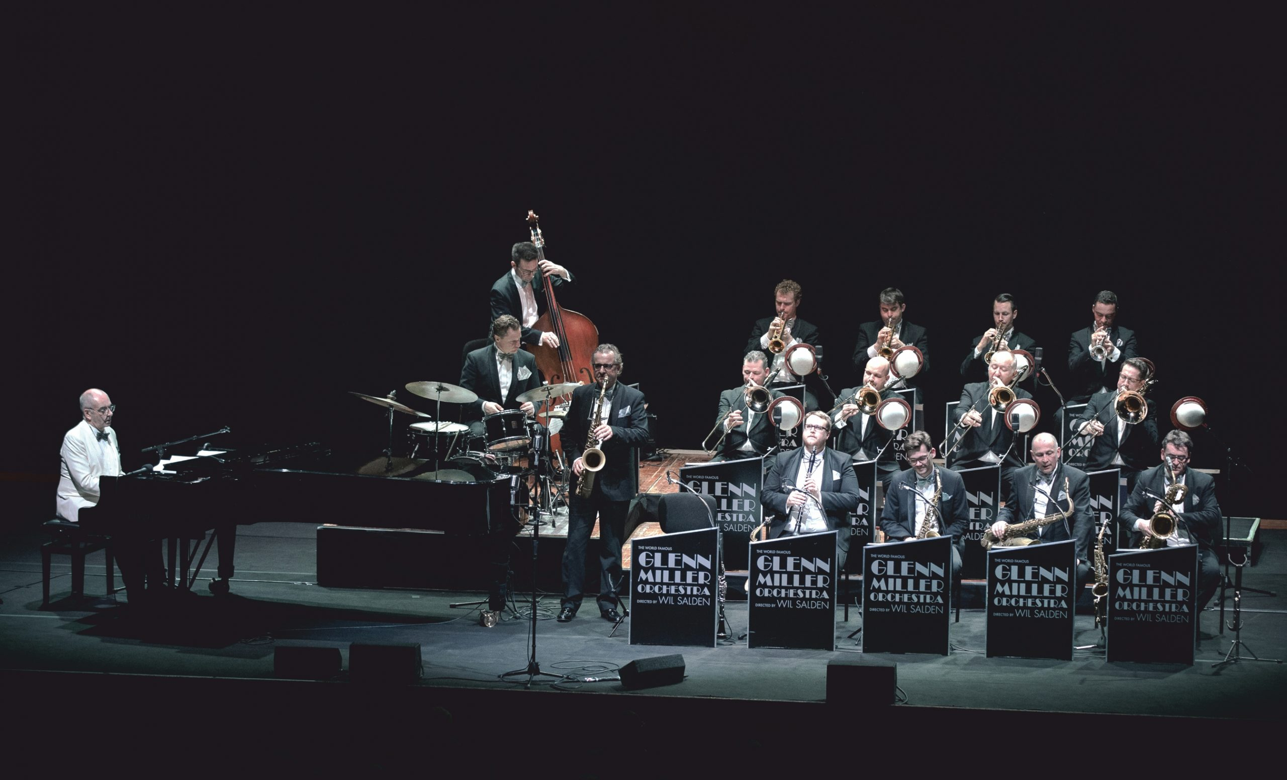 The World Famous Glenn Miller Orchestra directed by Wil Salden am 25. January 2021 @ Konzerthaus Wien.
