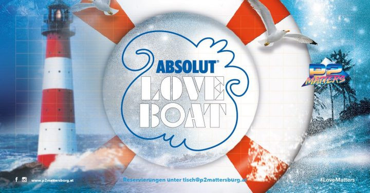Absolut Love Boat // im P2 Mattersburg am 9. November 2018 @ P2 Mattersburg.