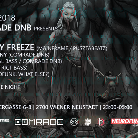 Comrade DNB presents Twenty Freeze (Mainframe/Pusztabeatz)