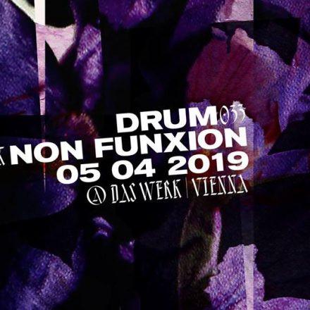 DRUM033 x NON FUNXION