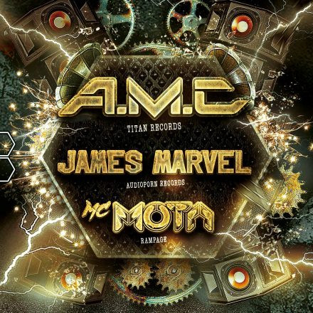 THE HIVE pres. AMC, James Marvel & MC Mota