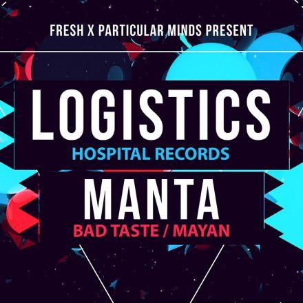 Fresh X Particular.Minds pres. Logistics & Manta