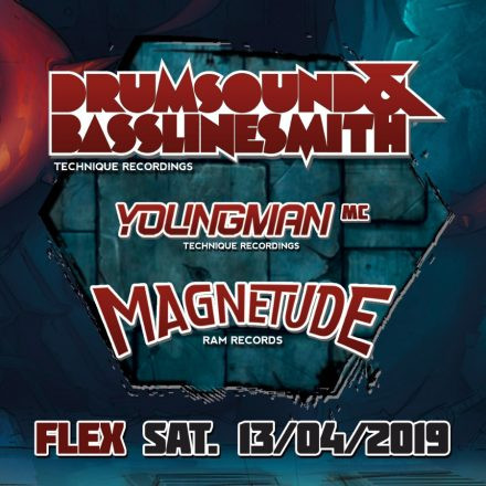 The Hive pres. Drumsound & Bassline Smith, Magnetude