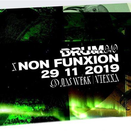 DRUM040 x NON FUNXION