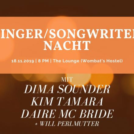 Singer/Songwriter Nacht