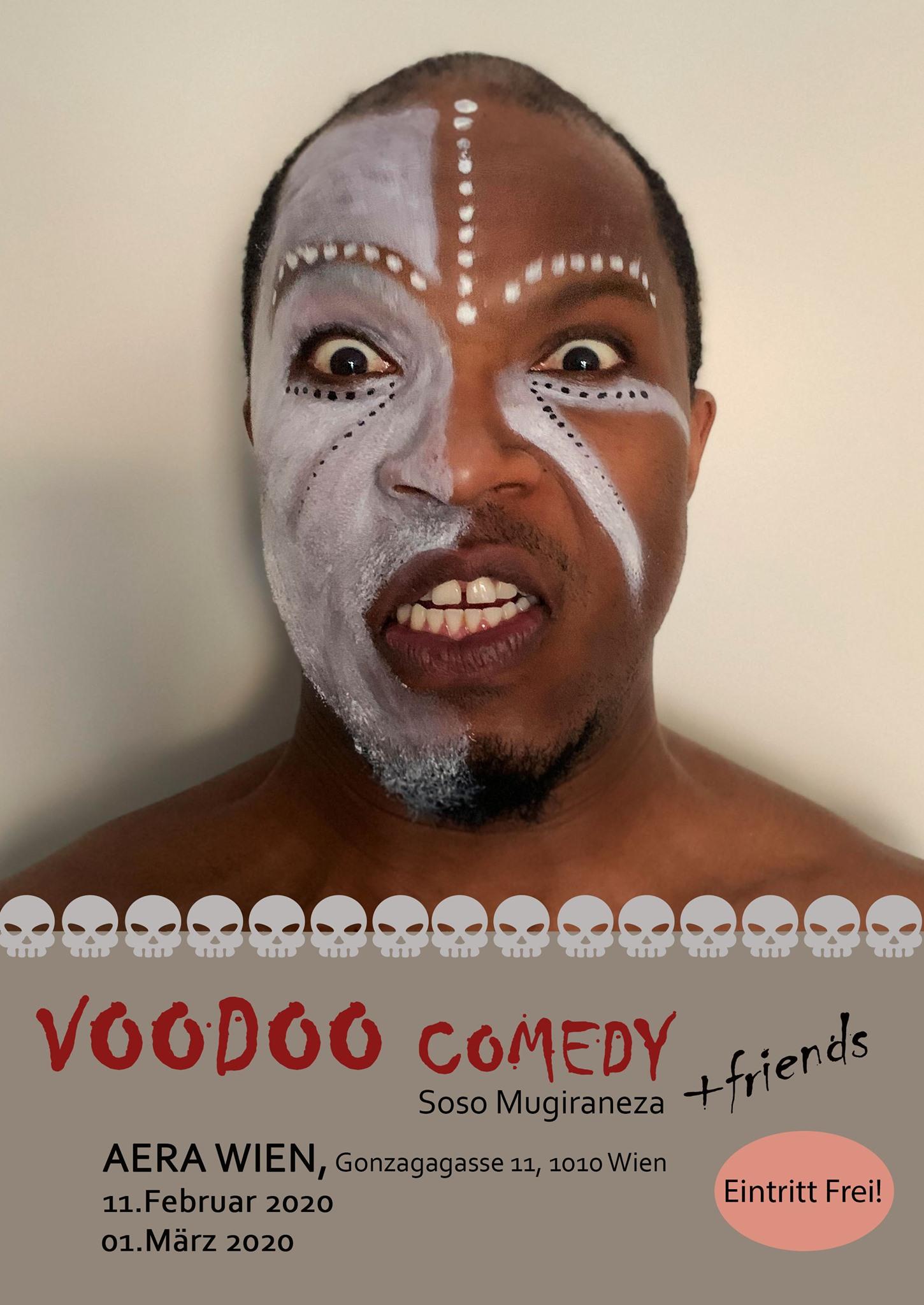 Voodoo Comedy am 11. February 2020 @ Aera.