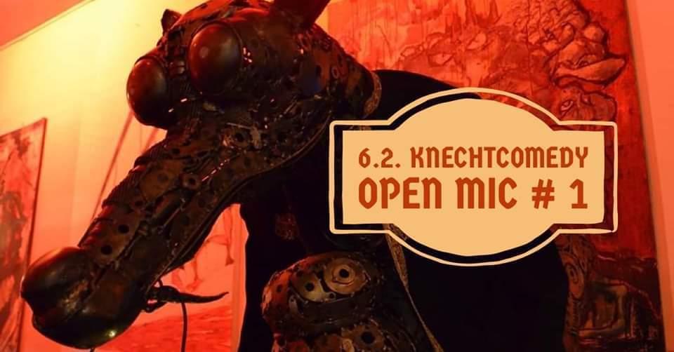 Knechtcomedy Open Mic #1 am 6. February 2020 @ Weberknecht.
