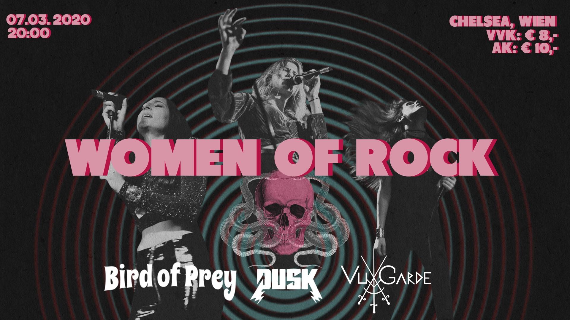 WOMEN OF ROCK am 7. March 2020 @ Chelsea.
