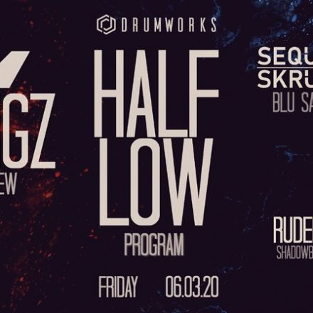 Drumworks presents Halflow & Wingz (ProgRAM / Overview) 06/03/20