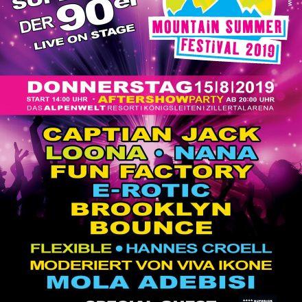 90S MOUNTAIN SUMMER FESTIVAL