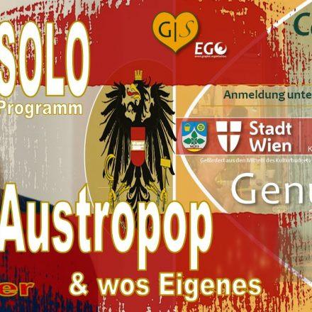 Alf Weidinger´s Austropop & wos Eigenes – Soloprogramm