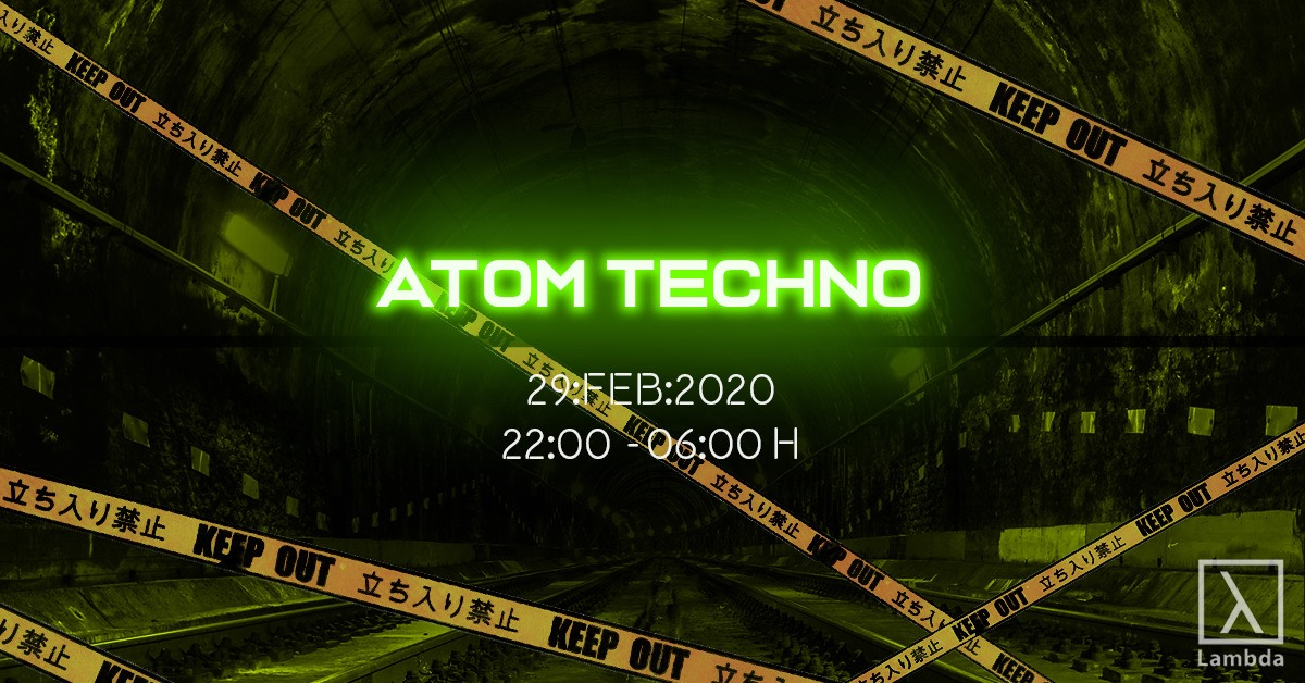 Atom Techno am 29. February 2020 @ Weberknecht.