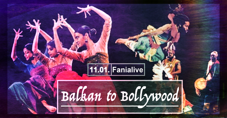 "Balkan to Bollywood Party - ""Mr. Dunkelbunt's 40th Birthday"" am 11. January 2020 @ Fania live."