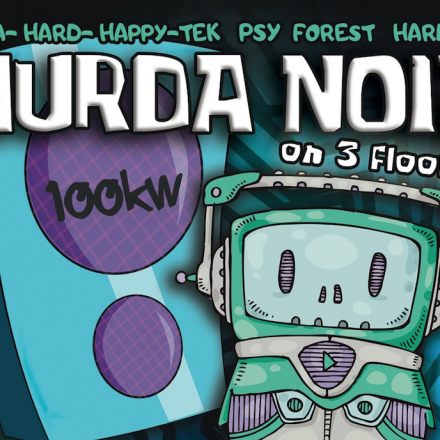 MURDA NOIZ Tek-Psy-Core Party coming back