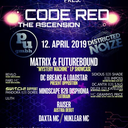 Present United X Districted Noize pres. Code Red The Ascension