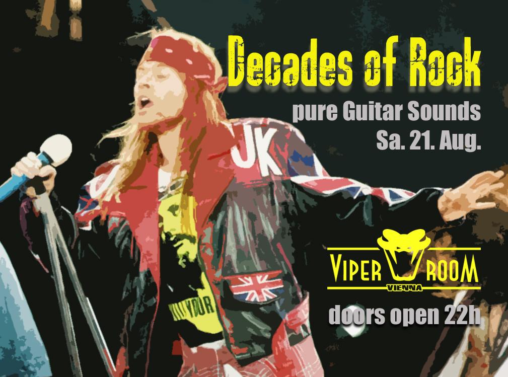 Decades Of Rock am 21. August 2021 @ Viper Room.