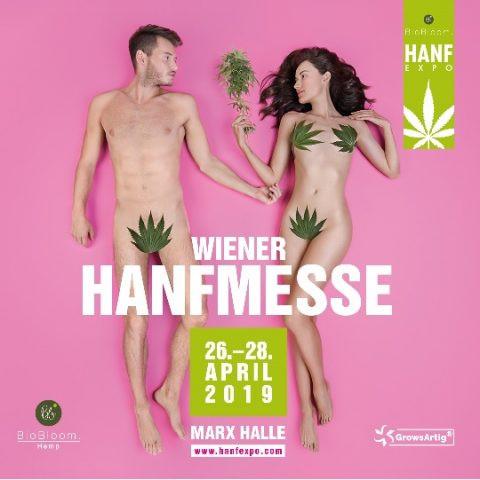 HANFEXPO 2019 am 26. April 2019 @ Marx Halle.