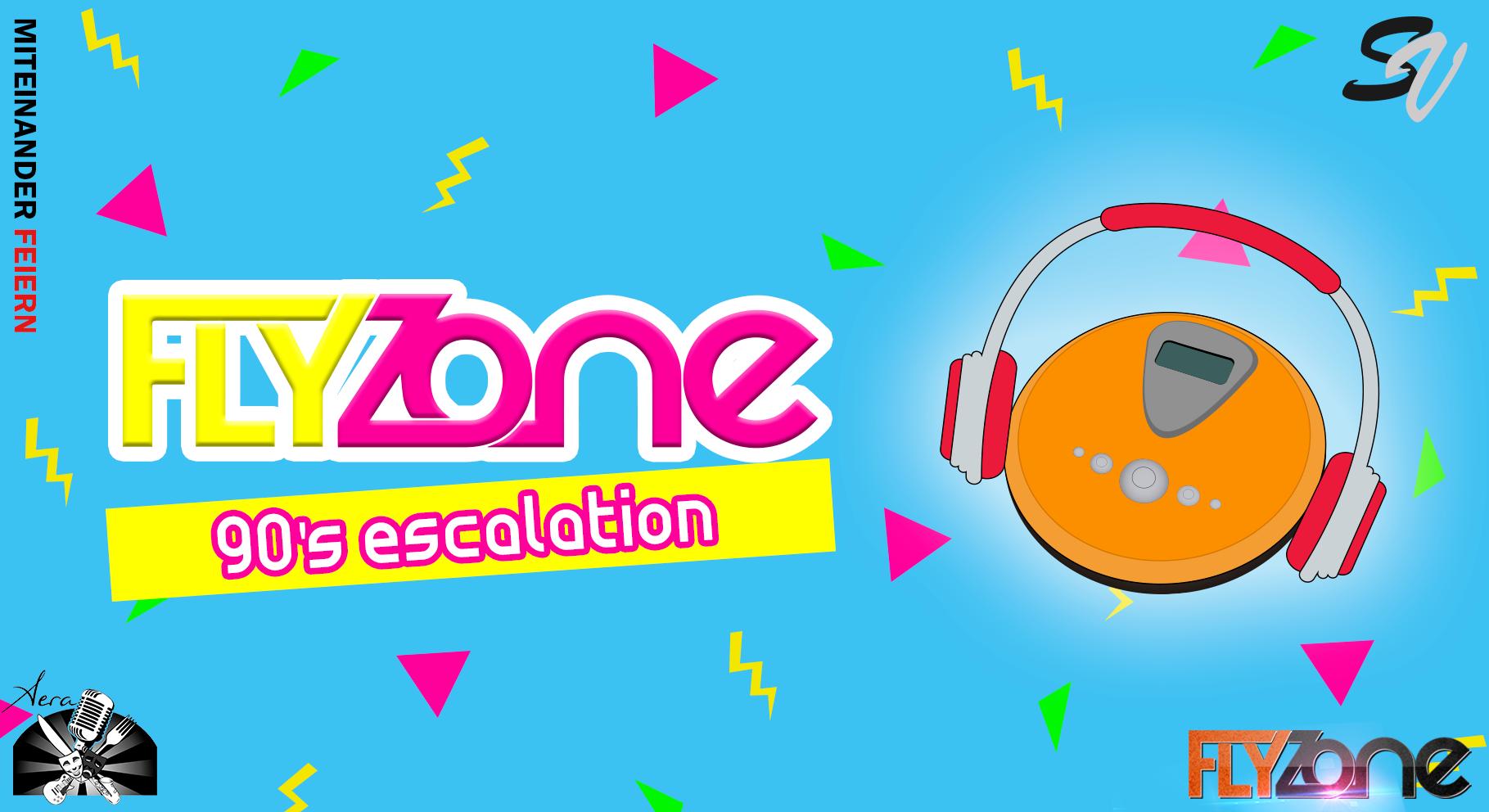 FLYzone – 90s escalation am 1. February 2020 @ Aera.