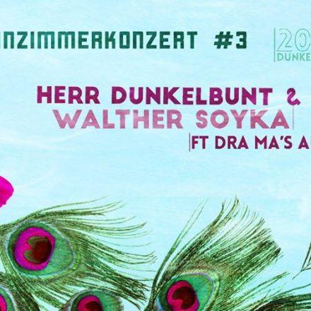Herr Dunkelbunt & Walther Syka ft. Drah ma's auf! - Wohnzimmerkonzert #3