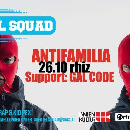 Gürtel Squad 14: Antifamilia, Gal Code