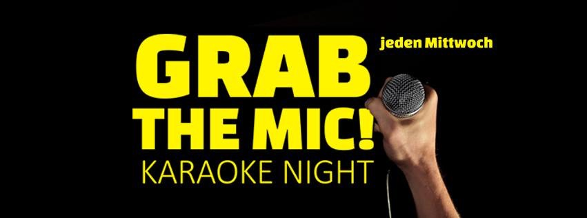 GRAB the MIC! Karaoke Night am 4. March 2020 @ Weberknecht.