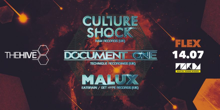 THE HIVE pres. Culture Shock, Document One & Malux
