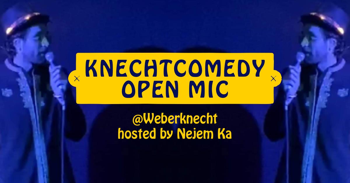 Knechtcomedy Open mic #2 am 5. March 2020 @ Weberknecht.