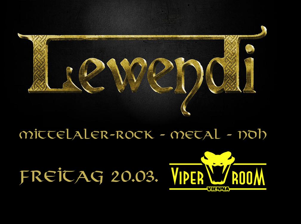 Lewendi am 20. March 2020 @ Viper Room.