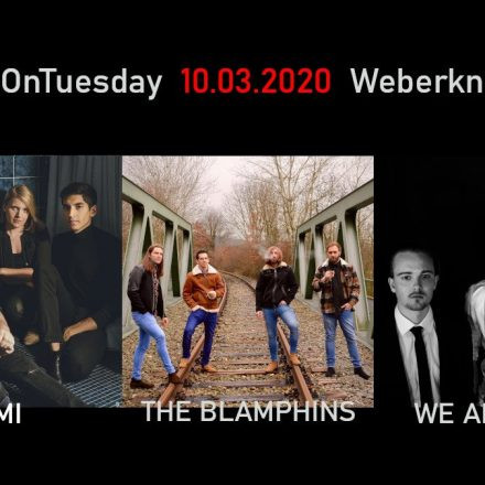 Live On Tuesday: Kayomi • The Blamphins • We Are Infinite