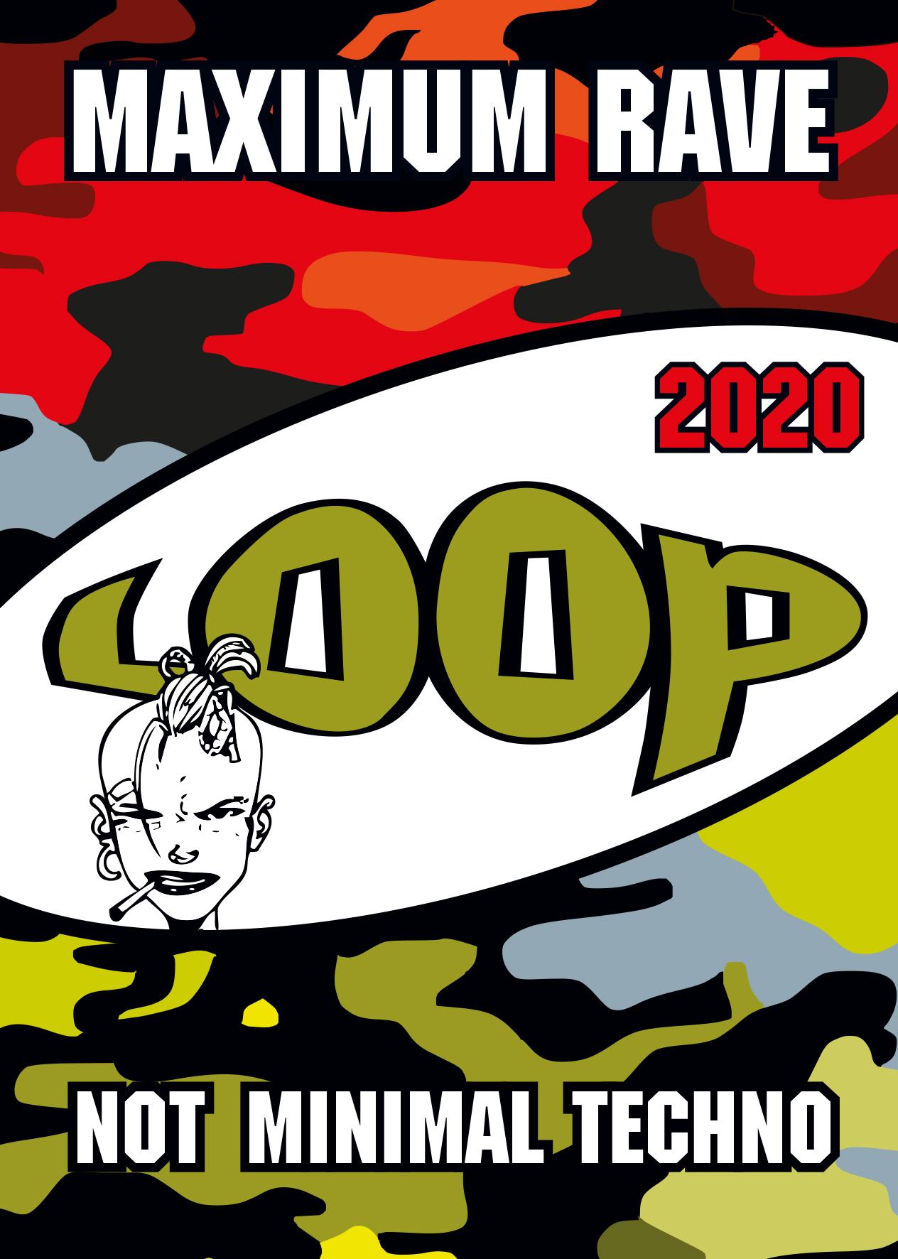LOOP 2020 am 8. February 2020 @ Fluc Wanne.