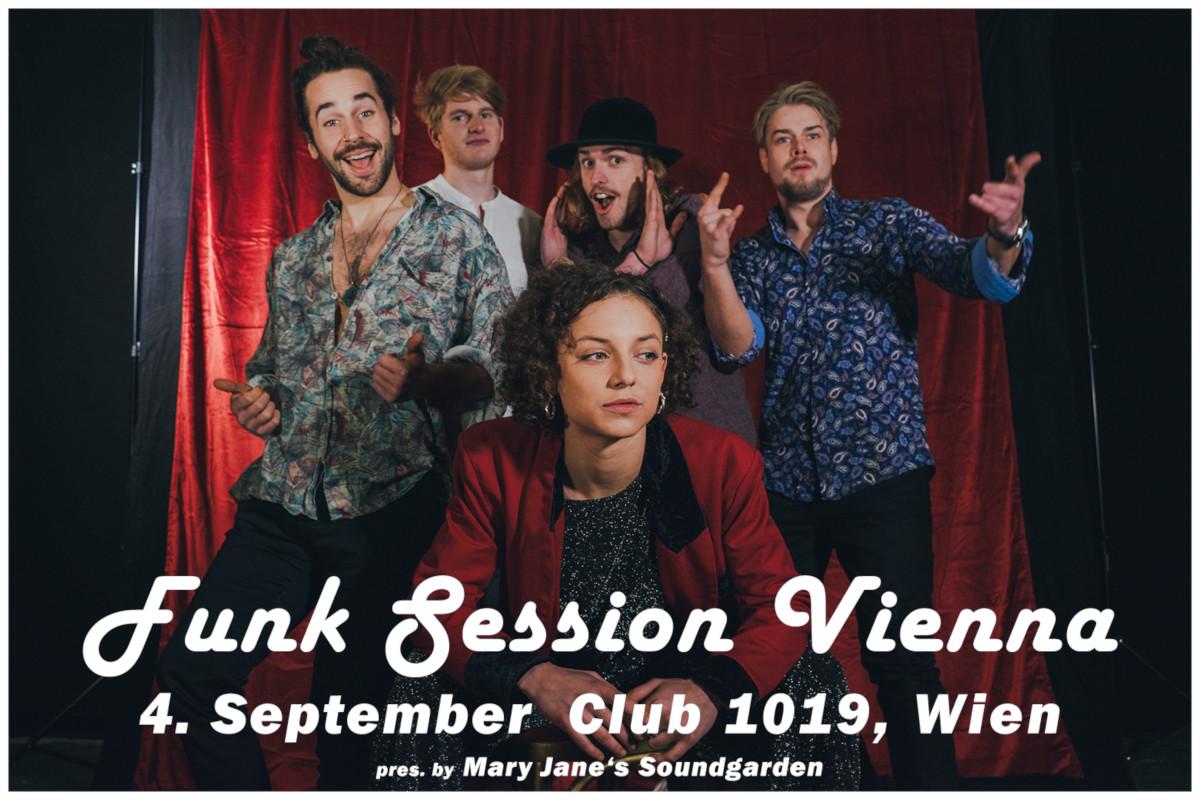 Mary Jane's Soundgarden / Funk Session Vienna am 4. September 2021 @ 1019 Jazzclub.