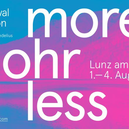 More Ohr Less - Musik Festival und Symposion