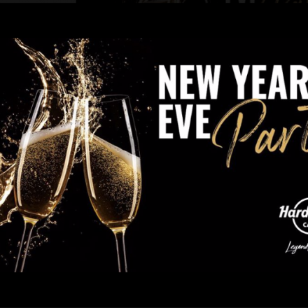 New Year's Eve im Hard Rock Cafe