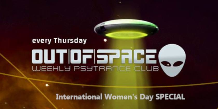 OUT of SPACE Weltfrauentag Special am 5. March 2020 @ Weberknecht.