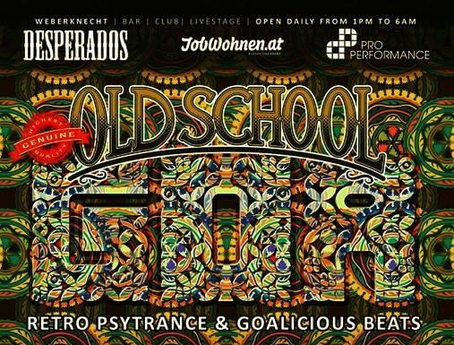 Oldschool Goa Party am 14. March 2020 @ Weberknecht.