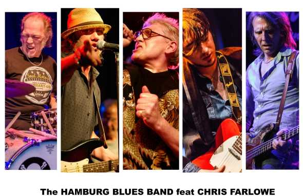 The HAMBURG BLUES BAND feat. Chris Farlowe & Krissy Matthews am 29. April 2020 @ Reigen.