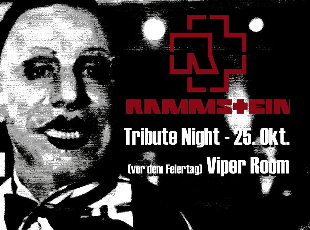 Rammstein Tribute Night am 25. October 2021 @ Viper Room.